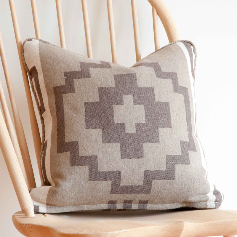 Shiprock Feather Toss Cushion