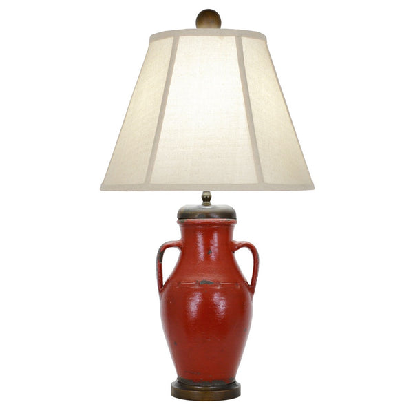 Edgewood Table Lamp - Red