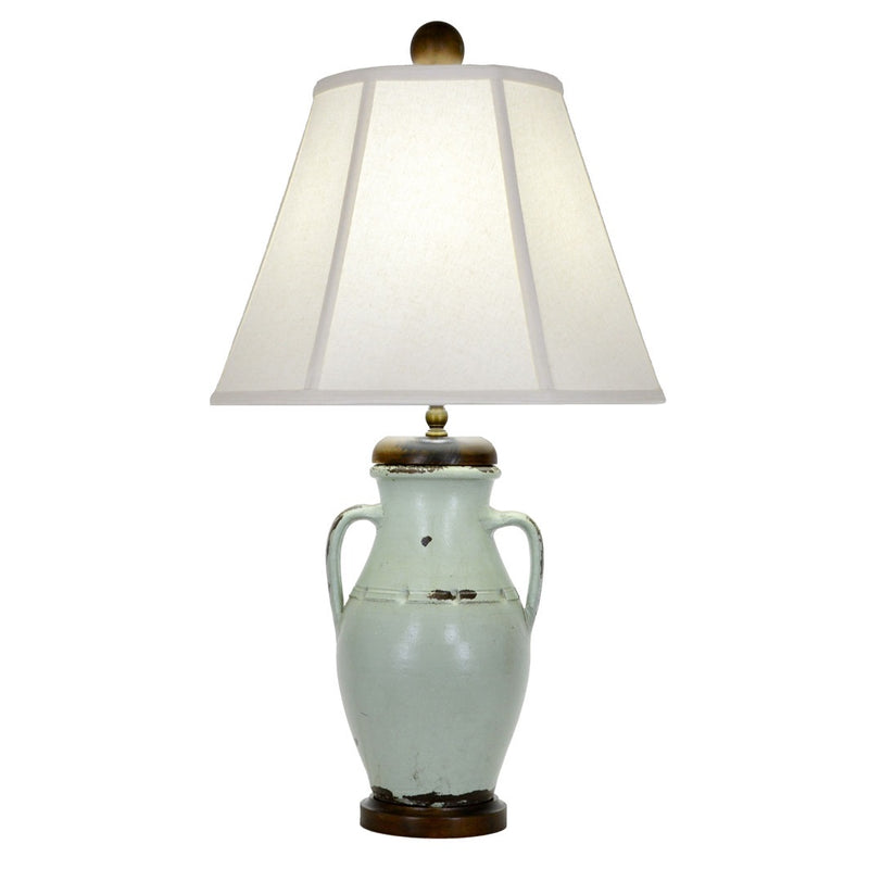 Edgewood Table Lamp - Turquoise