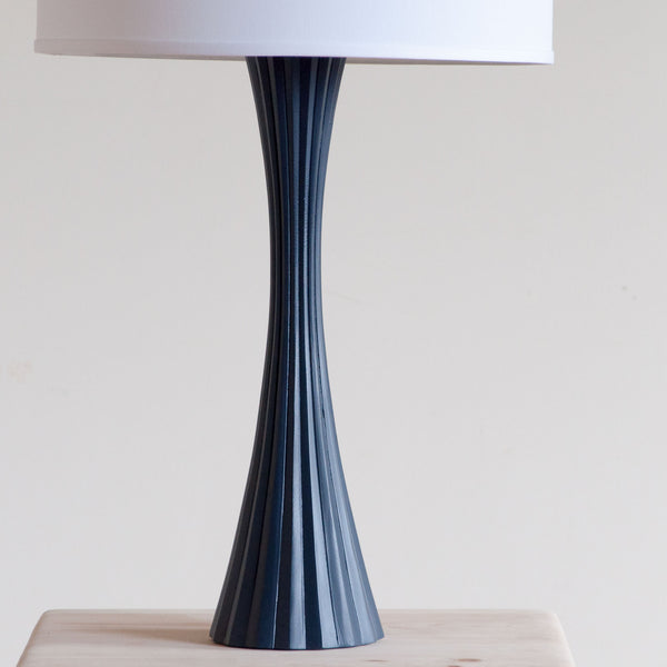Emery Table Lamp in Blue