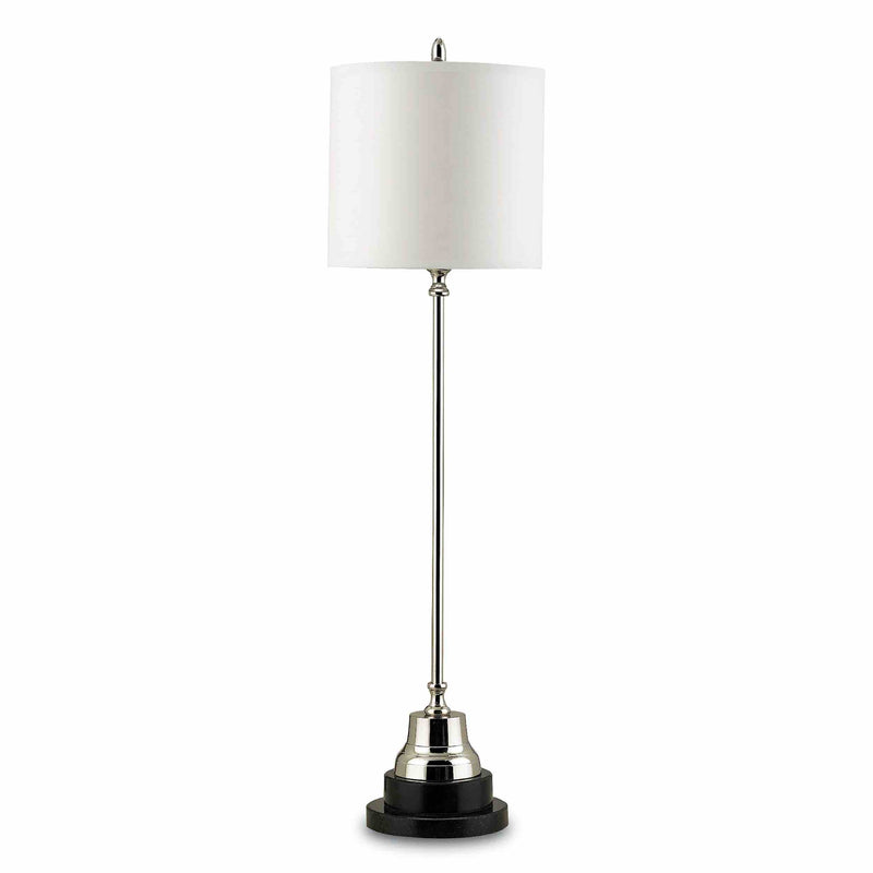 Eustace Table Lamp - Nickel