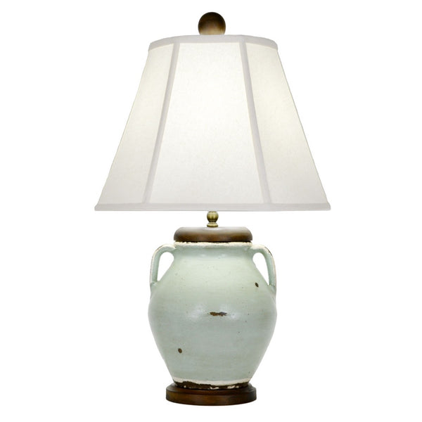 Fernstone Table Lamp - Turquoise
