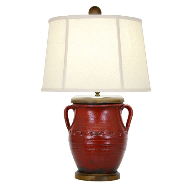 Foster Table Lamp - Red