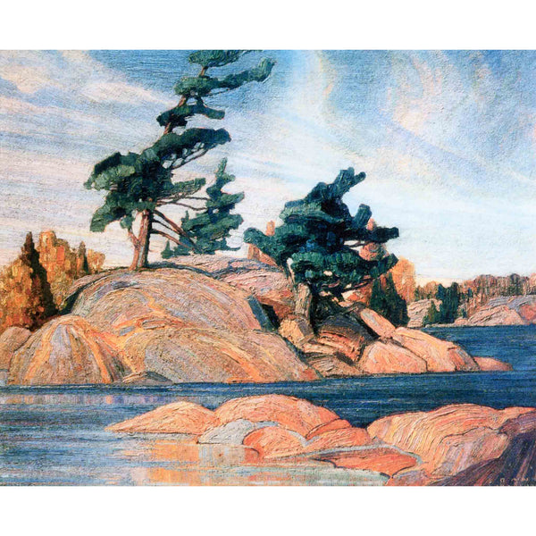 Island Georgian Bay Canvas