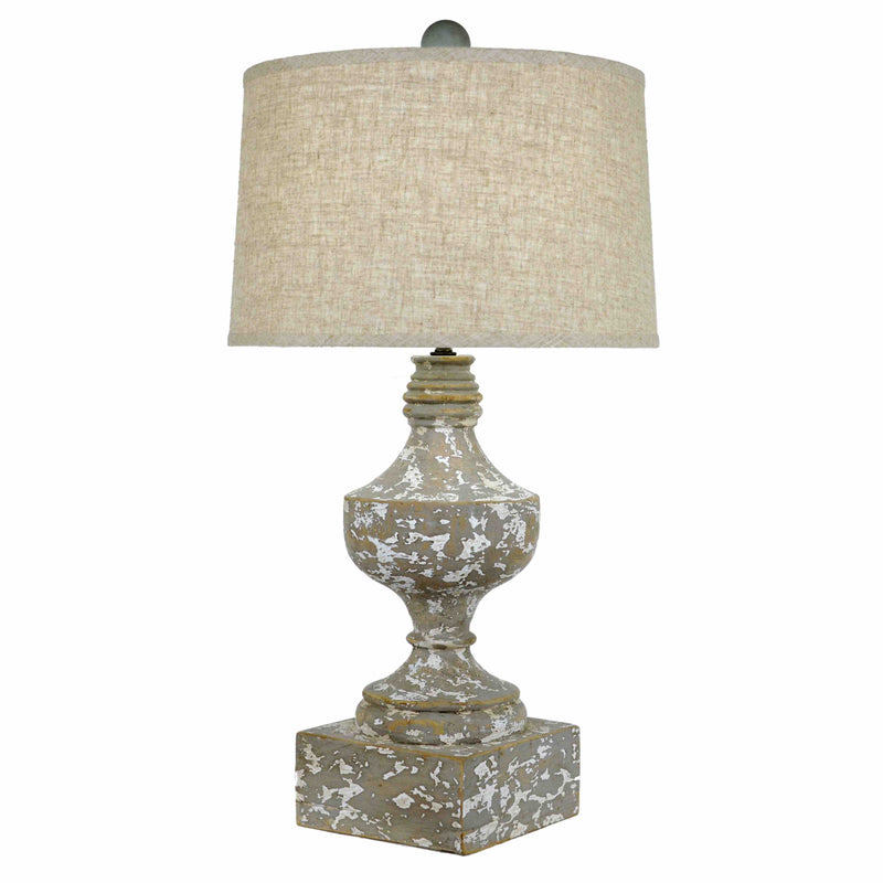 Frontage Table Lamp - Taupe/Grey