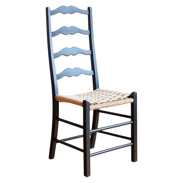Genevieve Chair in Black/Checkerboard