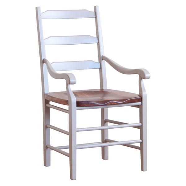 Highland arm chair in grey williams