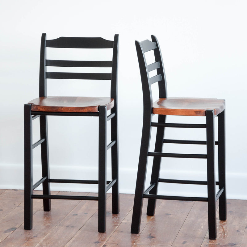 Highland Counter/Bar Stool in Black/Williams