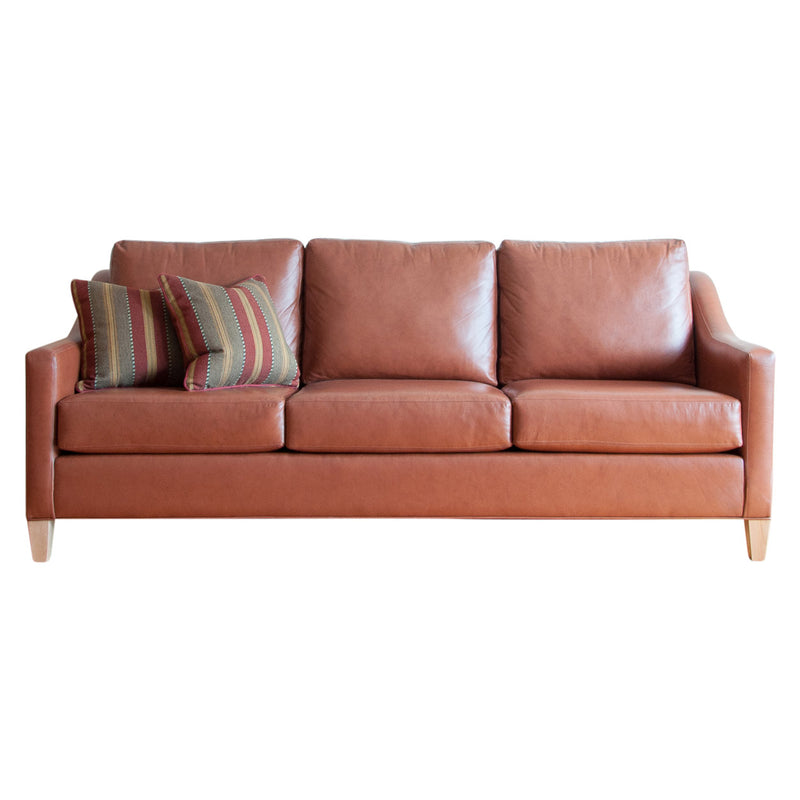 Holden sofa in whisky leather