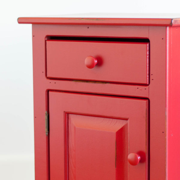 Hudson Cupboard in Red