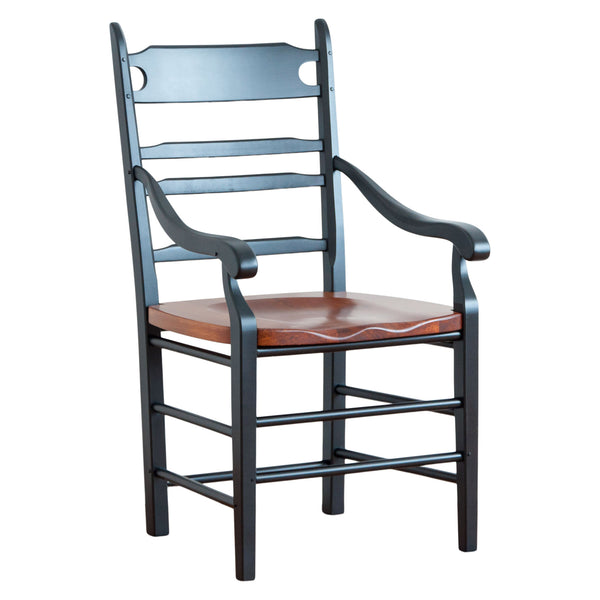 Hunt Arm Chair in Black/Williams