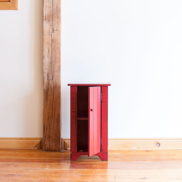 James Cupboard in Vintage Red/Black