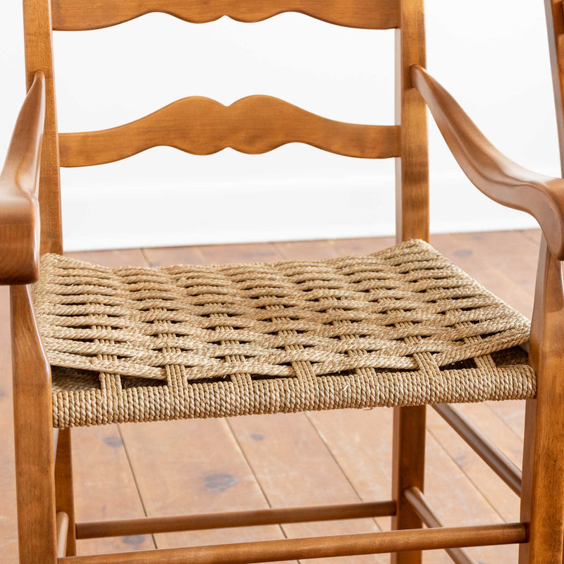 Jennifer Arm Chair in Light Williams/Cheackerboard