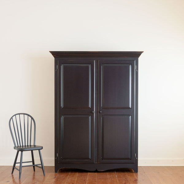 Large Chelsea Armoire in Black