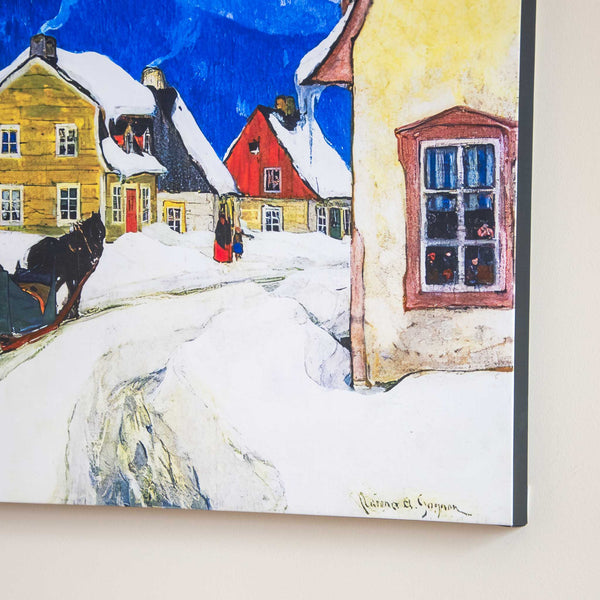Laurentian Village Canvas