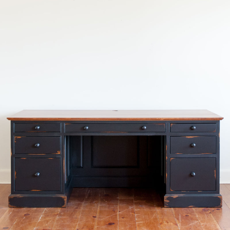 Laurier Desk in Black/Williams