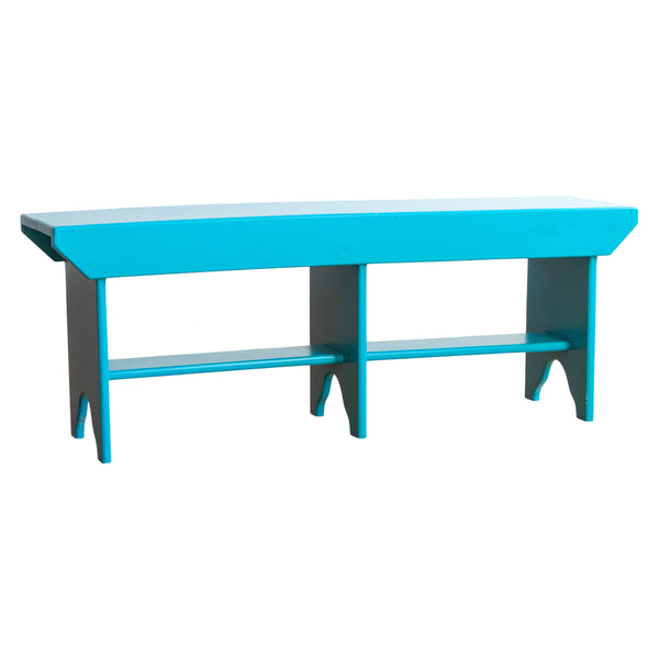 Bucket Bench in Turquoise