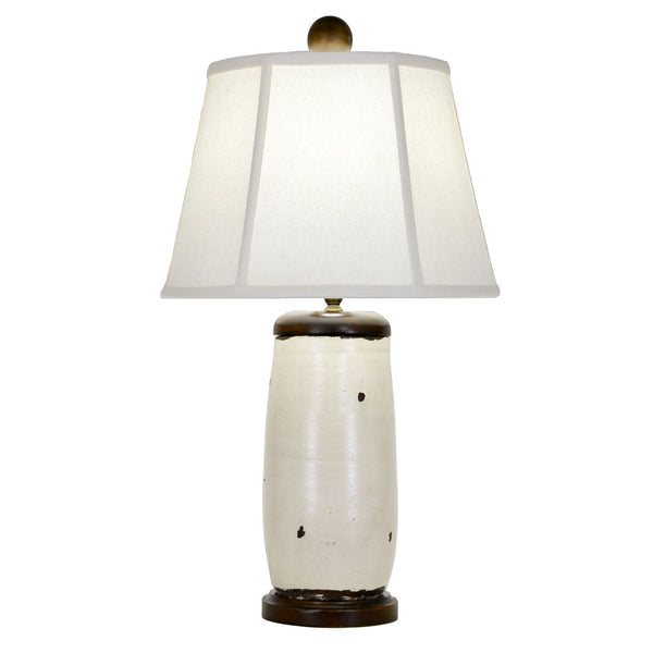 Liddell Table Lamp - White