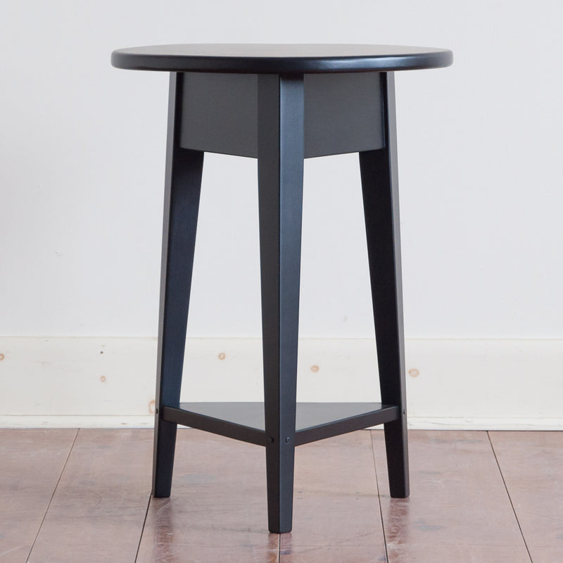 Louise Side Table in Black