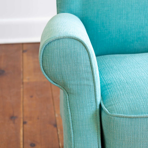 Margot Tall Recliner in Teal