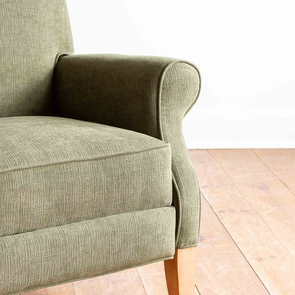 Margot Tall Recliner in Olive