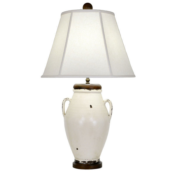 Melante Table Lamp - White