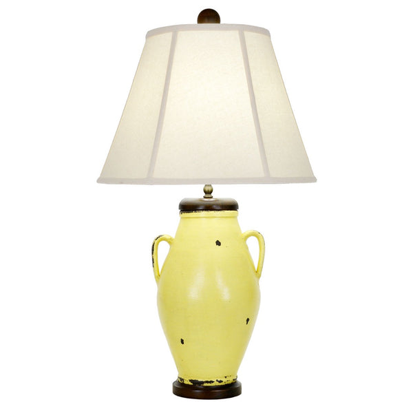 Melante Table Lamp - Yellow
