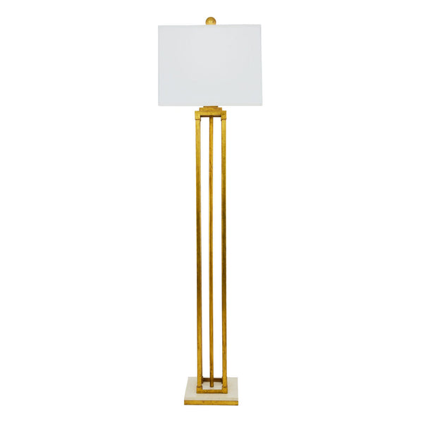 Pillar Floor Lamp - Gold