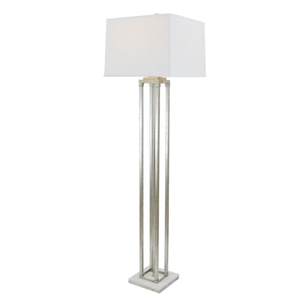Pillar Floor Lamp - Silver