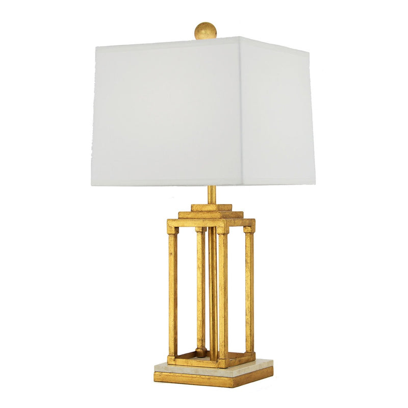 Pillar Table Lamp - Gold
