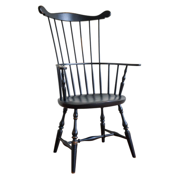 Quincy Arm Chair in Black