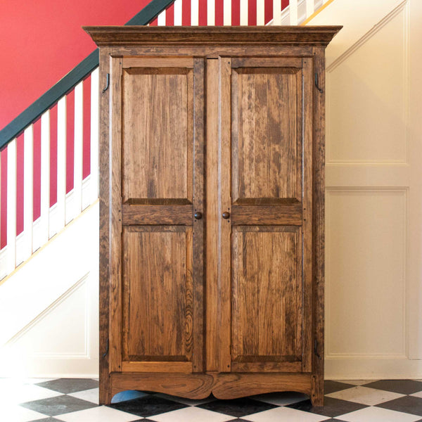 Raised Panel Armoire in Provincial