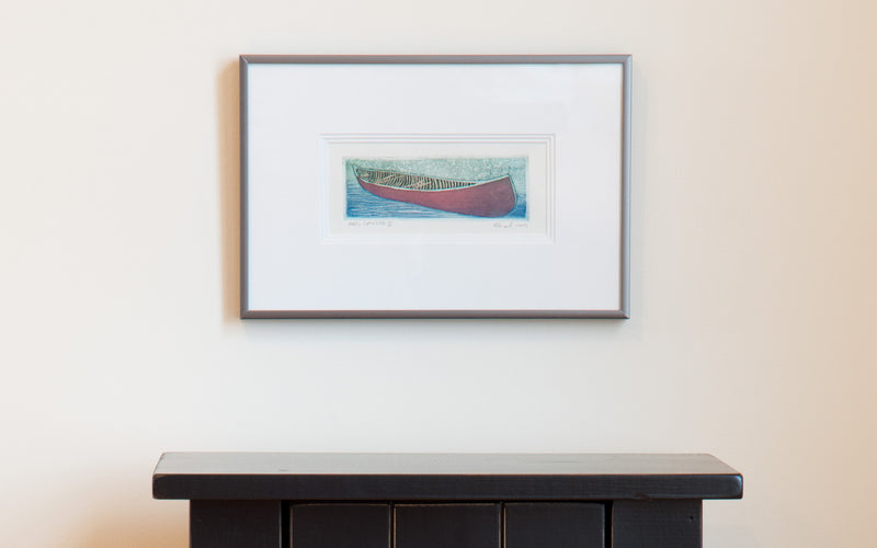 Shafley Red Canoe II Print
