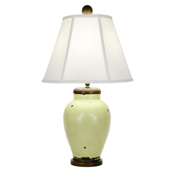 Rice Table Lamp - Green