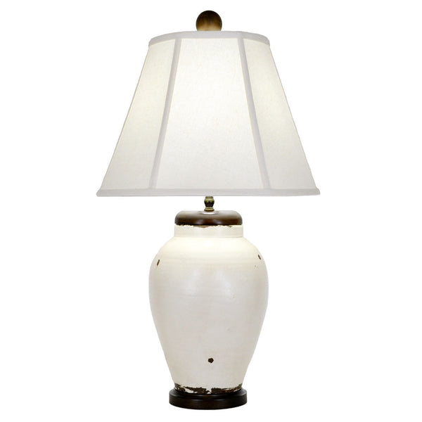 Rice Table Lamp - White