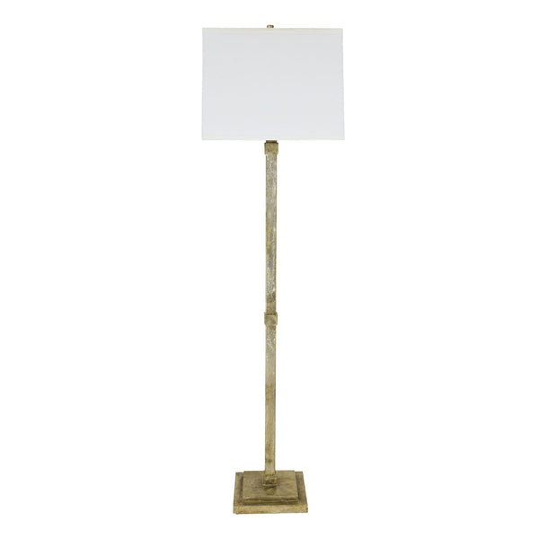 Foundry Floor Lamp - Silver