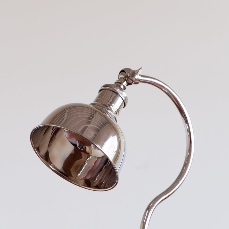 Sullivan Apothecary Lamp in Nickel