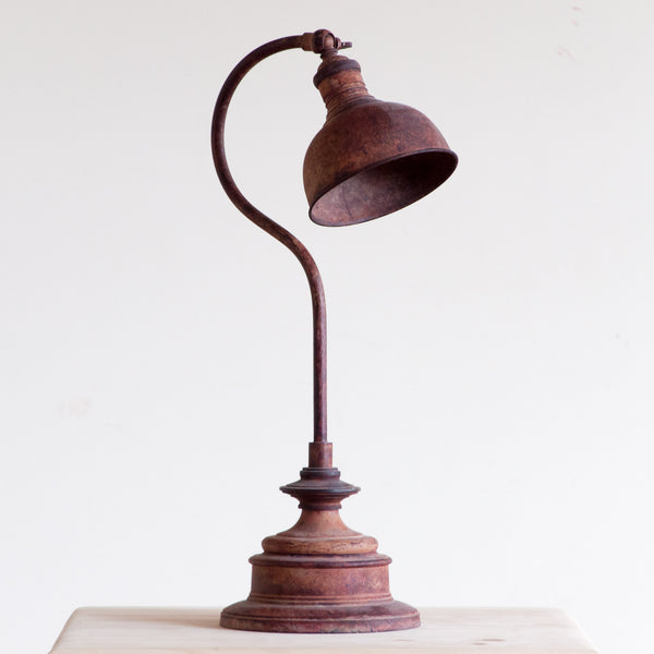 Sullivan Apothecary Lamp in Rust