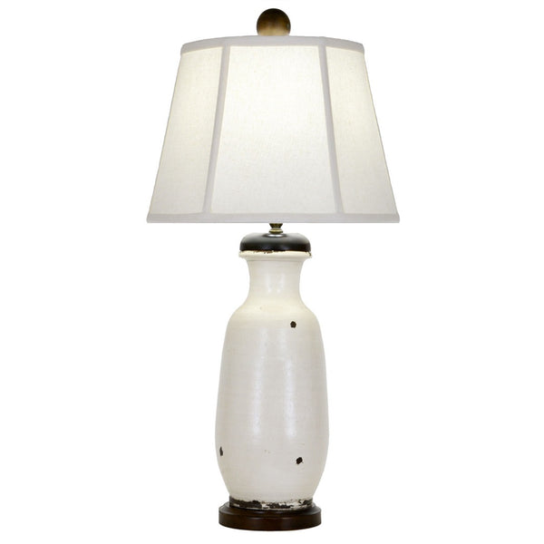 Telfair Table Lamp - White