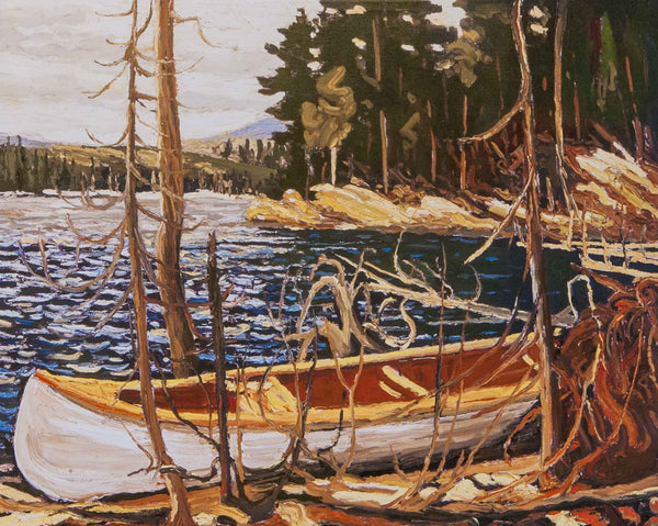 The Canoe Tom Thomson