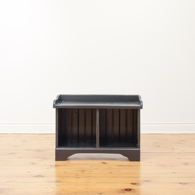 Cubby Bench in Black
