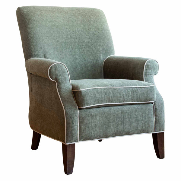 Warren armchair in tarragon