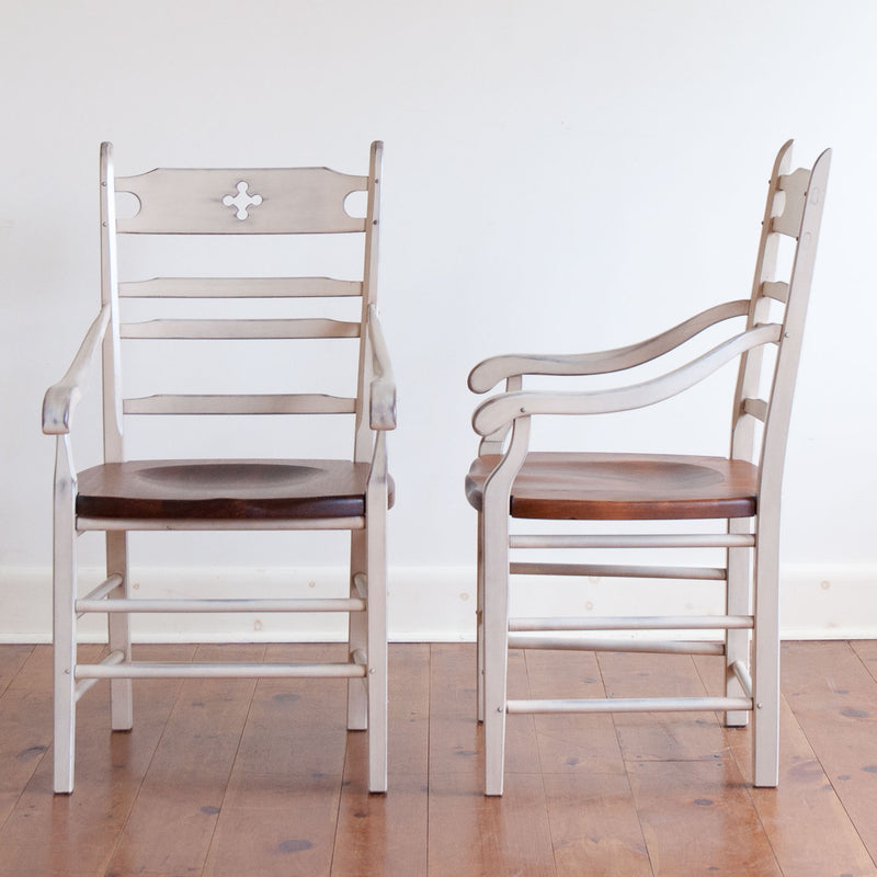 Wolf Arm Chair in White/Williams