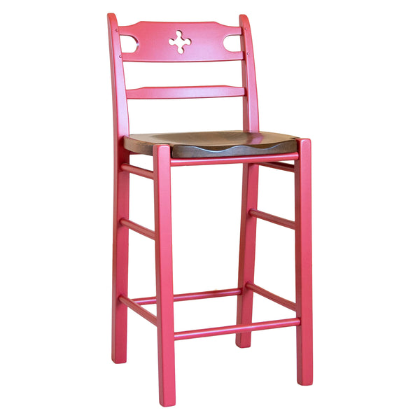Wolf Stool in Anne's Red/Williams