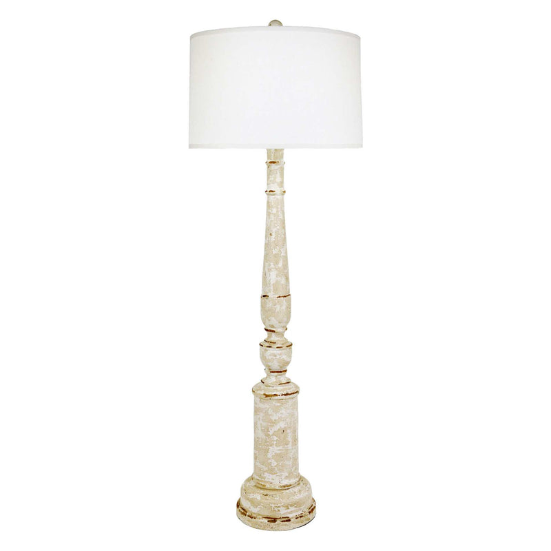 Woodley Floor Lamp - Beige