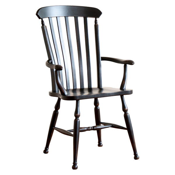 Kingston Arm Chair in Black