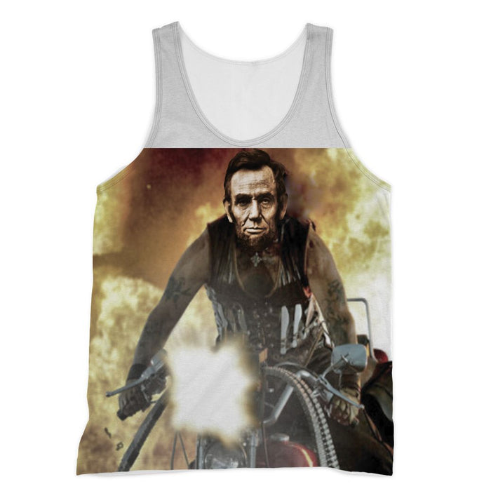 Machine Gun Lincoln Muscle Shirt