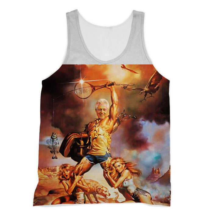 Billy Clinton Vacation Muscle Shirt
