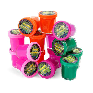 Mega Pack of Slime Party Favors for Kids and Teens - Bulk Pack of 48 Mini Noise Putty in Assorted Neon Colors - Bulk Toys for Classroom Rewards, Stocking Stuffers, and Birthday Party Goody Bag Filler