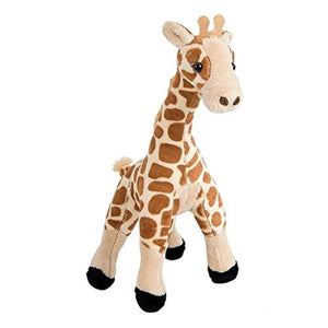 "Bedtime Pal Super Soft Plush 11"" Stuffed Giraffe Toy - Soft Jungle Animal Plush Toy and Pillow"